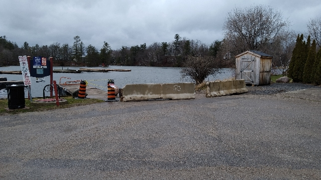 Seeley's Bay Boat Ramp Closed